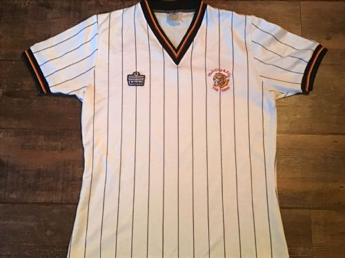 1982 1983 Hull City Away Football Shirt Large